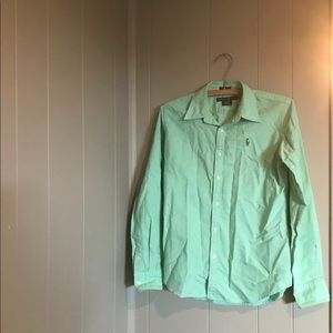 Polo with long sleeves